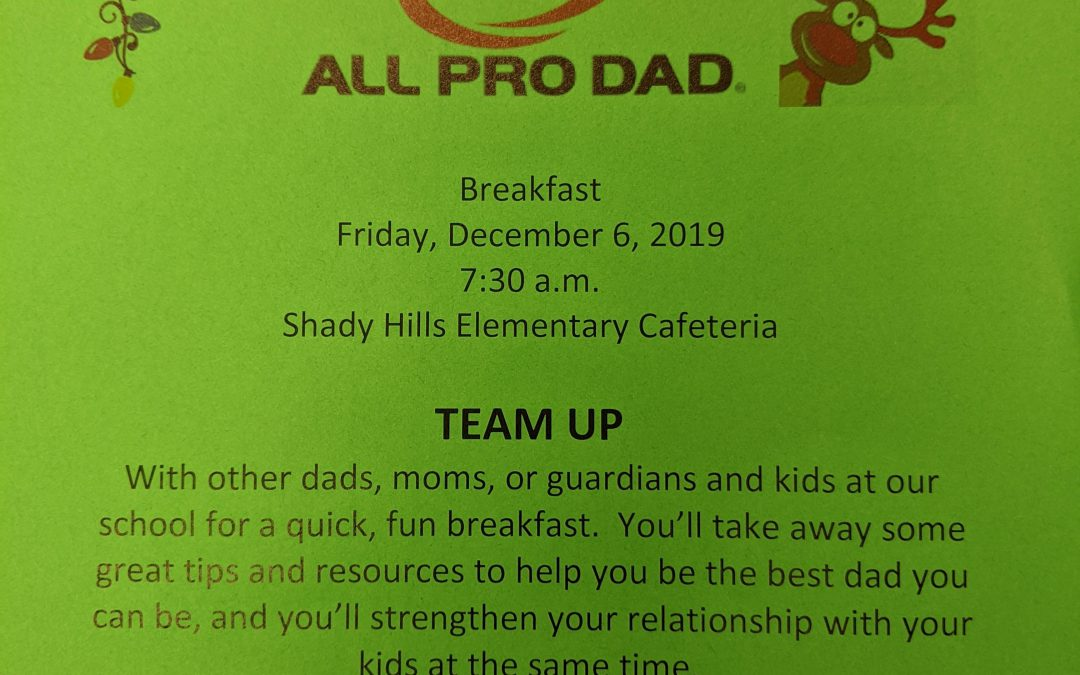 All Pro Dad Breakfast